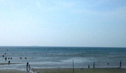 潮干狩り~千葉県富津海岸周辺の情報と2016年潮見表の入手方法