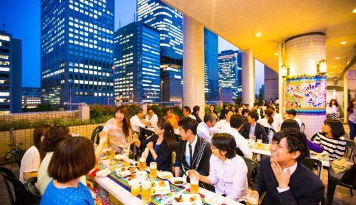 【ANAクラウンプラザホテル大阪】2016年上質なホテルブッフェが楽しるビアガーデン