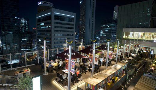 【OSAKA STATION CITY ラテン na ビアガーデン】2016年大阪・梅田で楽しめるビアガーデン