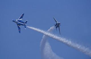 徳島阿波おどり2016でブルーインパルスの展示飛行!航空自衛隊のアクロバットショーに大興奮