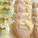 結婚式のプチギフト!アイシングクッキー超かわいいのをまとめました。
