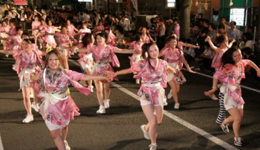 ダンシングそーだナイトまとめ!福島わらじまつり2016の前に過去お祭り風景をチェックしよう
