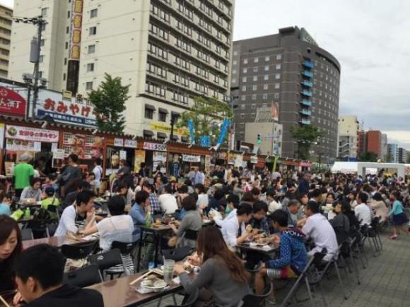 創成川公園サンキューフェスティバルの様子2