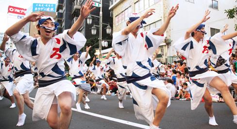 高円寺阿波踊り1