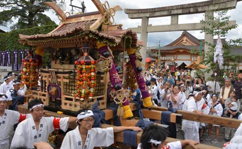 ずいき祭り(瑞饋祭)2016|京都市北野天満宮での日程、見どころをレポート