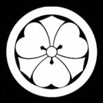 片喰紋 (丸に剣片喰)