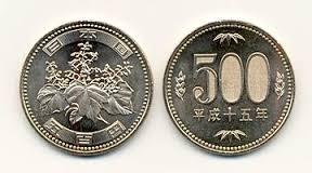 500円五七桐紋