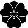 田中の家紋を画像で説明、剣片喰