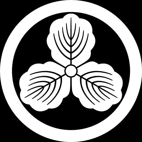丸に三つ柏紋