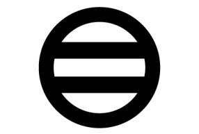 丸に二つ引き紋