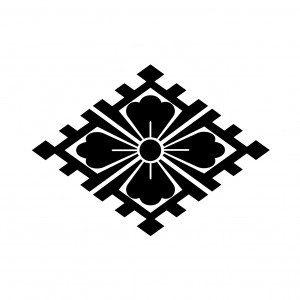 山口の家紋の由来・意味を画像で説明!山口菱の家紋を解説