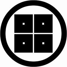 木村の家紋である丸に平四つ目の由来・意味を画像で説明!木村重成の家紋は四つ目菱