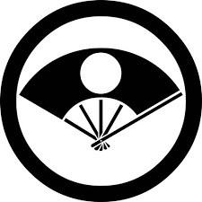 日の丸扇家紋