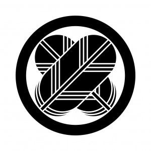 丸に違い鷹の羽紋