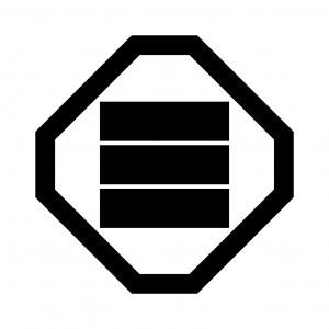 折敷に三の字