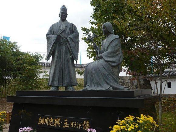細川忠興と妻がラシャ
