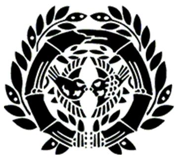 竹に雀紋の画像
