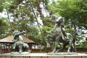 上杉謙信の戦い画像