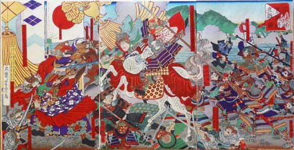 上杉謙信川中島の戦い画像