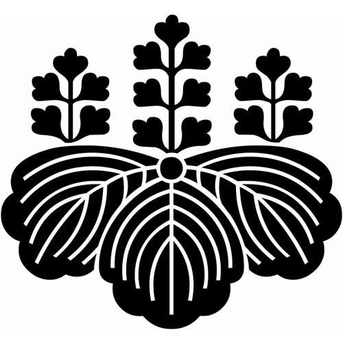 上杉謙信の五七の桐紋画像