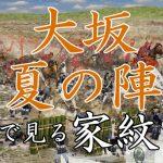 大坂夏の陣|家紋で見る合戦シリーズvol.31