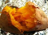 トースターでできた芋