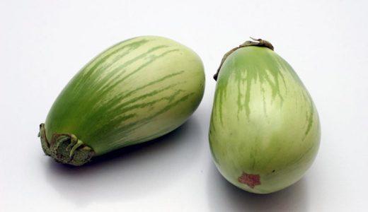 青なすの特徴・旬の時期は?|埼玉県の青茄子・白茄子の品種