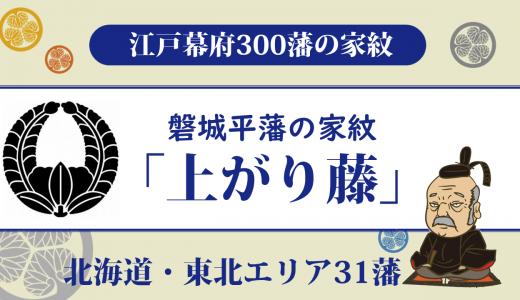 【江戸幕府300藩】磐城平藩の家紋は「上がり藤」戦い抜いた磐城の戦い