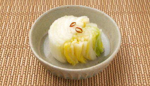 白菜の漬物レシピ6選!美味しいおすすめ、箸休め・常備菜にも大活躍