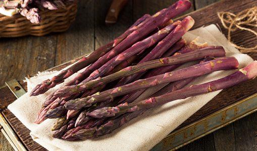 紫アスパラガスの特徴・旬の時期まとめ|彩りの良い紫色のアスパラガス