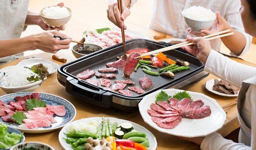 家焼肉で飛び散らない対策方法!ホットプレートの煙・臭いを防止するには?