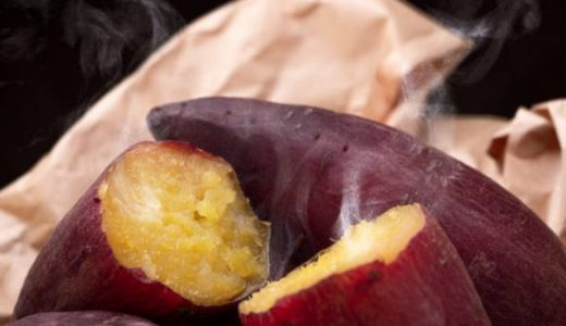 レンジでねっとり焼き芋の作り方 温めは500w+ラップで!何分加熱する?